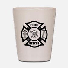 Fire Rescue Shot Glass