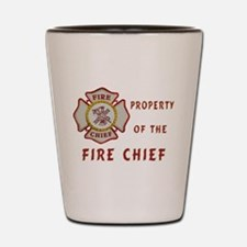 Fire Chief Property Shot Glass