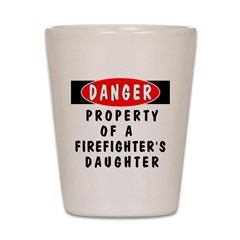 Firefighter's Daughter Shot Glass