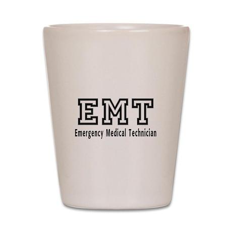 EMT Logo Shot Glass