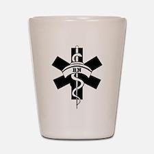 RN Nurses Medical Shot Glass