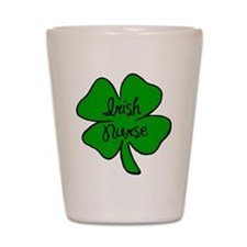 Irish Nurse Shot Glass