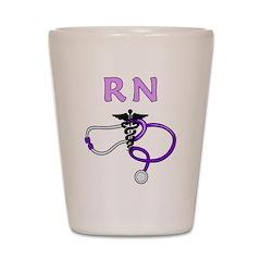 RN Nurse Medical Shot Glass