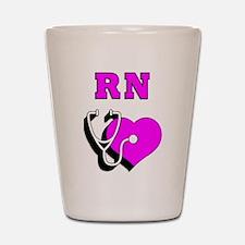 RN Nurses Care Shot Glass