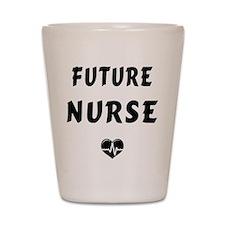 Future Nurse Shot Glass