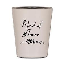 Classic Maid of Honor Shot Glass