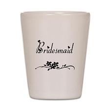 Classic Bridesmaid Shot Glass