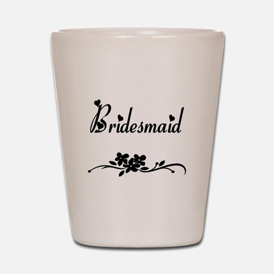 Classic Bridesmaid Shot Glass