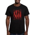 Rock Star From Mars Men's Fitted T-Shirt (dark)