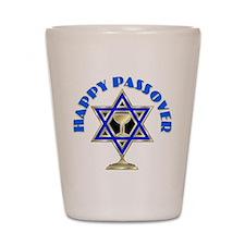 Jewish Star Passover Shot Glass