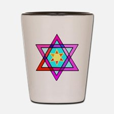 Jewish Star Of David Shot Glass