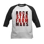 Rock Star From Mars Kids Baseball Jersey
