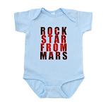 Rock Star From Mars Infant Bodysuit