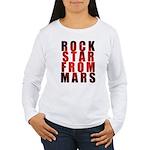 Rock Star From Mars Women's Long Sleeve T-Shirt