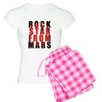Rock Star From Mars Women's Light Pajamas