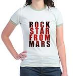 Rock Star From Mars Jr. Ringer T-Shirt