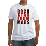Rock Star From Mars Fitted T-Shirt