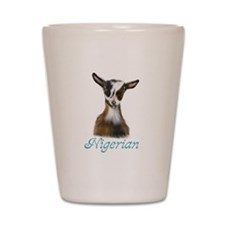 Nigerian Goat Nikki Shot Glass