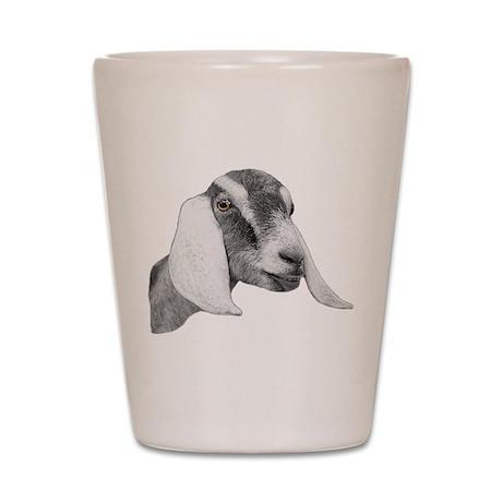 Nubian Goat Sketch Shot Glass