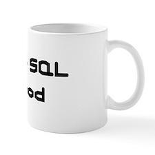 Will Code SQL For Food Mug