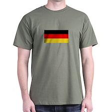German Flag T-Shirt (Dark)