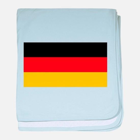 German Flag Baby Blanket