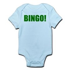 BINGO! green-text Infant Bodysuit