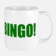 BINGO! green-text Mug