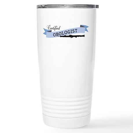 Obologist Stainless Steel Travel Mug