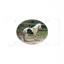 Tovero Gelding Aluminum License Plate