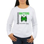 TBI Awareness Matters Women's Long Sleeve T-Shirt