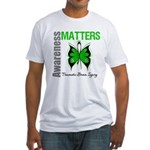 TBI Awareness Matters Fitted T-Shirt