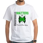 TBI Awareness Matters White T-Shirt