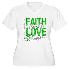 TBI Faith Love Support T-Shirt