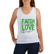 TBI Faith Love Support Women's Tank Top