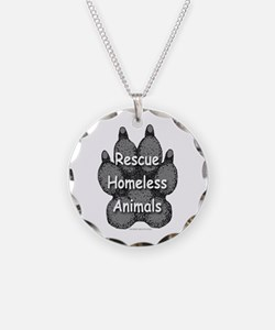 Rescue Homeless Animals Necklace