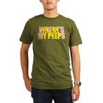 Peeps Organic Men's T-Shirt (dark)