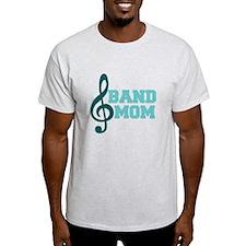 Treble Clef Band Mom T-Shirt
