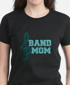 Treble Clef Band Mom Tee