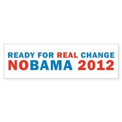 Real Change Bumper Sticker