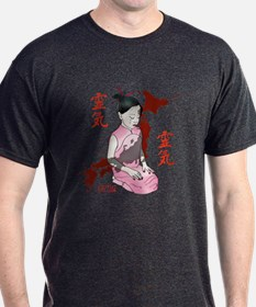 JAPANESE RELIEF GIRL - IN PINK T-Shirt
