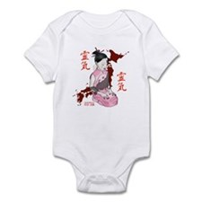 JAPANESE RELIEF GIRL - IN PINK Infant Bodysuit