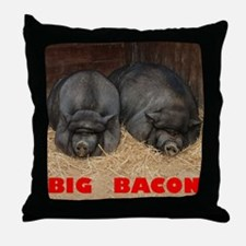 Big Bacon Throw Pillow