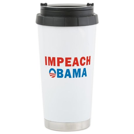 Impeach Obama Stainless Steel Travel Mug