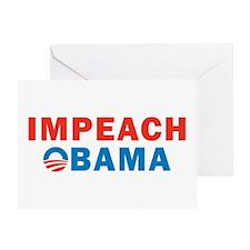 Impeach Obama Greeting Card