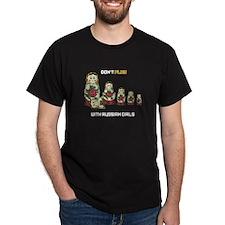 Don't Play Black T-Shirt