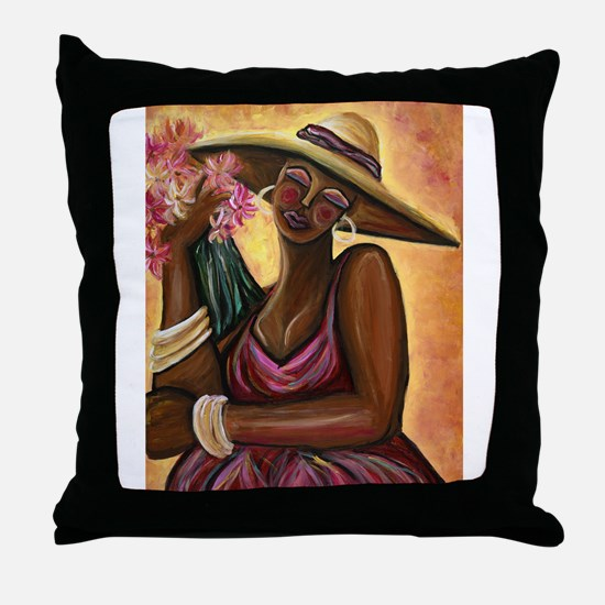 Beautiful Bouquet Throw Pillow