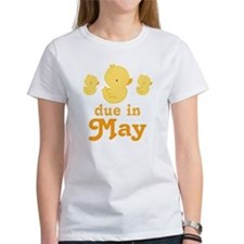 Baby Duck May Maternity Date Tee