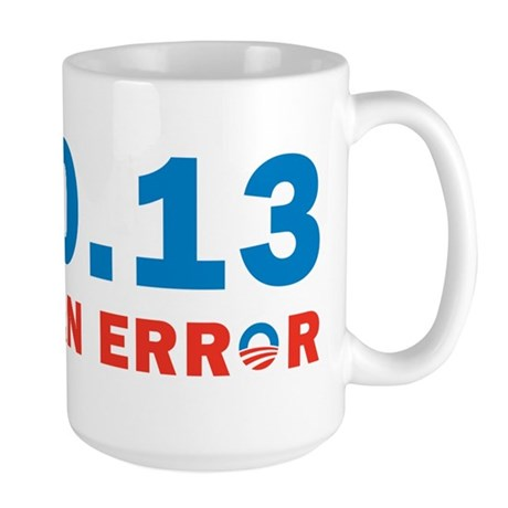 End Of Error Large Mug