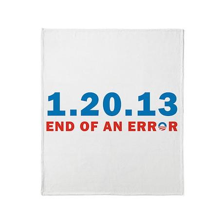 End Of Error Throw Blanket
